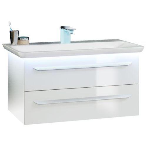 Zestaw mebli łazienkowych umywalka + szafka pod umywalkę LANZET 7208312
