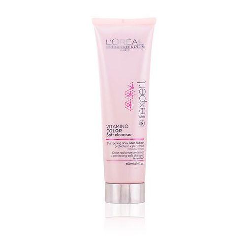 Loreal vitamino color soft cleanser - szampon bezsiarczanowy do włosów farbowanych 150ml marki Loreal professionnel