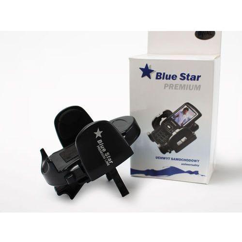 Uchwyt samochodowy premium line na kratkę nawiewu - czarny marki Blue star