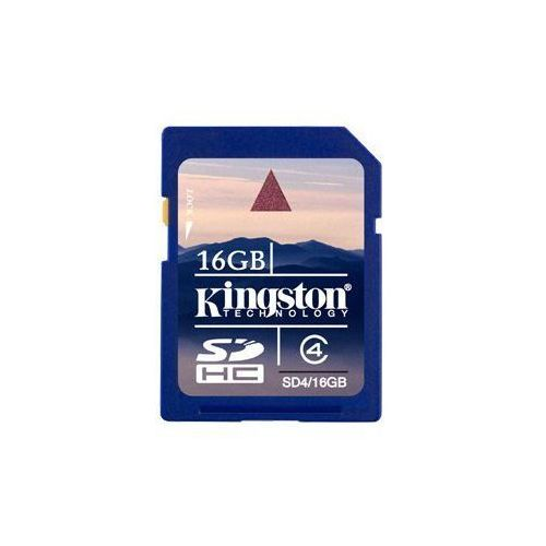 Kingston Karta pamięci sdhc 16gb sd4