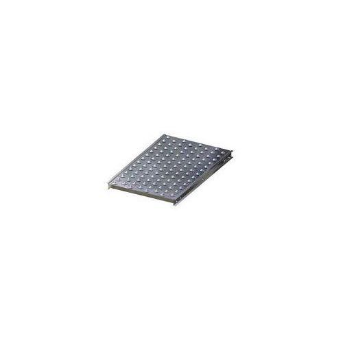 Stół kulowy, wys. konstrukcji 70 mm, szer. przenośnika 600 mm, dł. 1000 mm, podz marki Gura fördertechnik