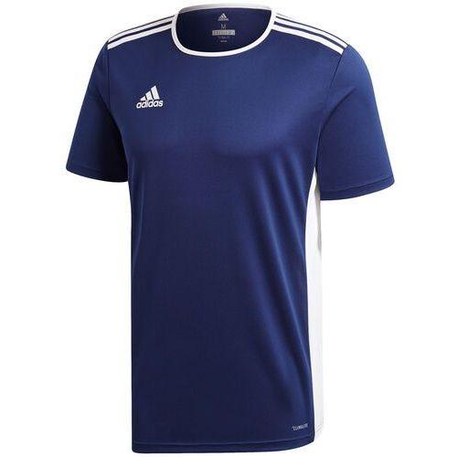 Koszulka dla dzieci adidas Entrada 18 Jersey JUNIOR granatowa CF1036/CF1047