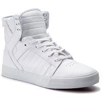 Sneakersy - skytop 08003-149-m white/white/red, Supra, 40-46