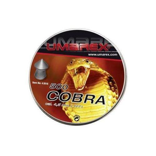 Śrut UMAREX Cobra kal 4,5 mm 500szt. szpic-molet (4.1916)