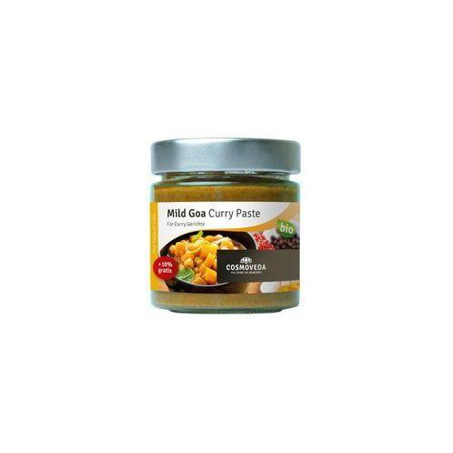 Pasta Goa Curry Łagodna do dań rybnych ORGANICZNA 160g Cosmoveda