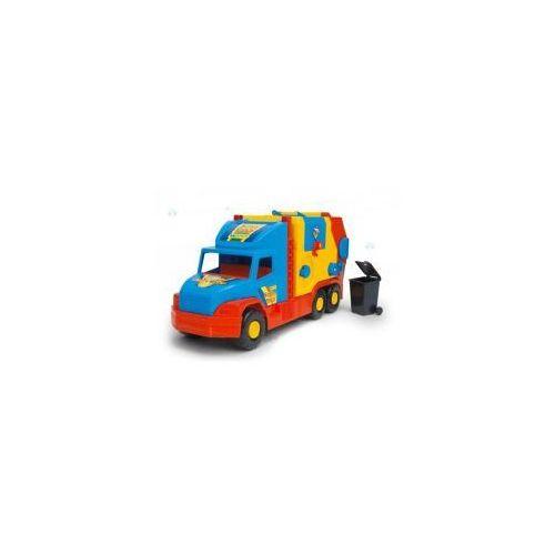 Super Truck Śmieciarka krótka WADER 36580 #A1, CentralaZ1738