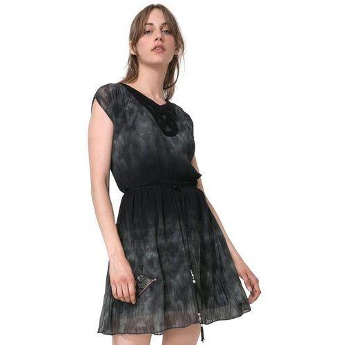 Desigual sukienka damska yeie 40 czarny