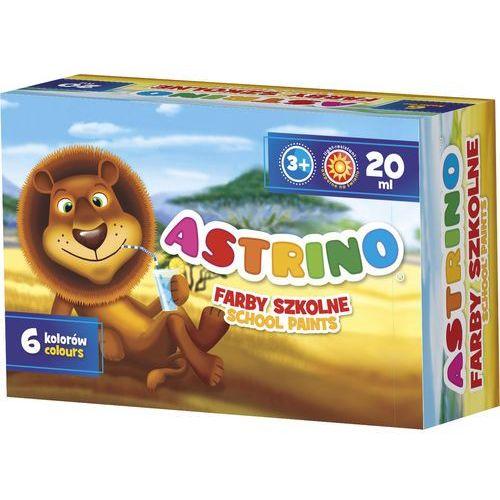 Astra Farby szkolne  astrino 6 kolorów 20 ml