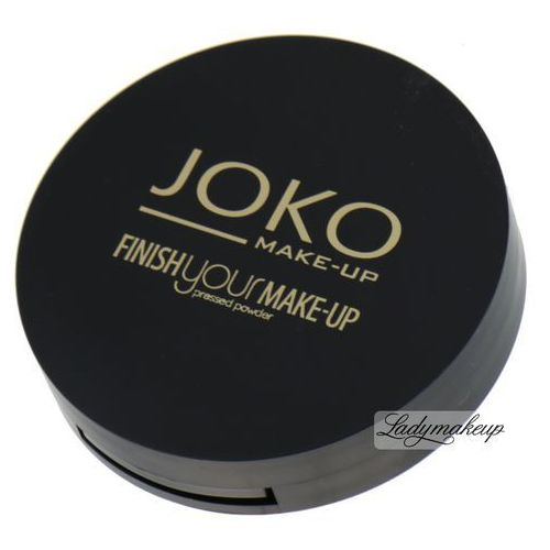 Joko  - finish your make-up pressed powder - puder prasowany - 12