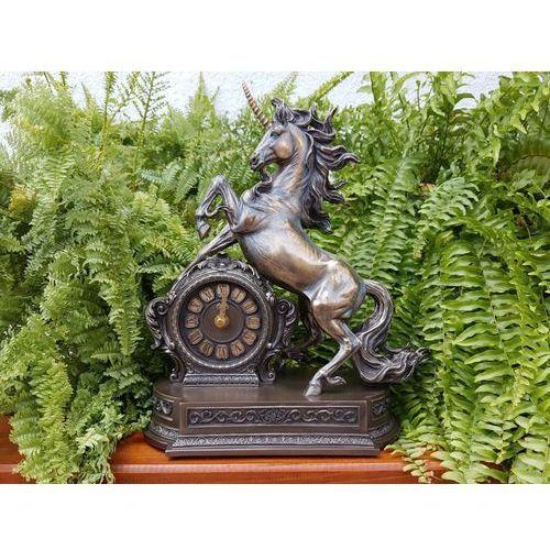 Wspaniały zegar z jednorożcem (wu76197a4) marki Veronese