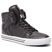 Sneakersy - vaider 08208-002-m black/white, Supra, 40-46