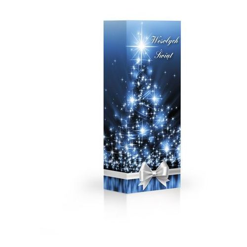 Czekoladki Boże Narodzenie niebieskie Praliny z mlecznej czekolady z nadzieniem kakaowym, orzechowym i kawowym