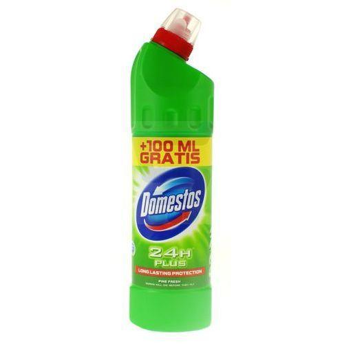 Płyn czyszcząco-dezynfekujący Domestos 24H Plus Pine Fresh 650 ml+100 ml