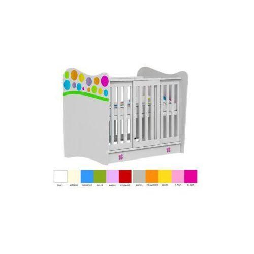 Łóżeczko 120x60 RAINBOW Baby