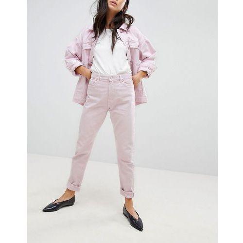 kimomo pink mom jeans - pink marki Monki