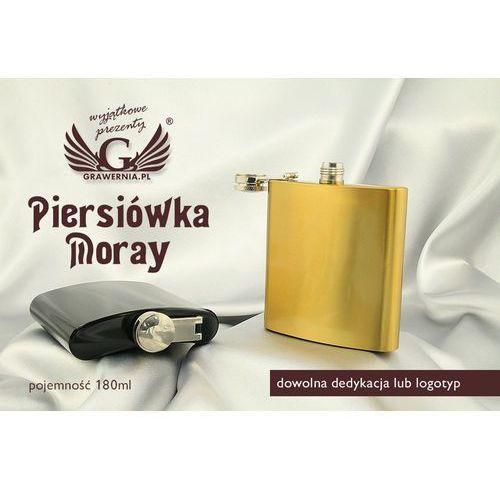 Grawernia.pl - grawerowanie i wycinanie laserem Piersiówka moray z grawerem - 180ml