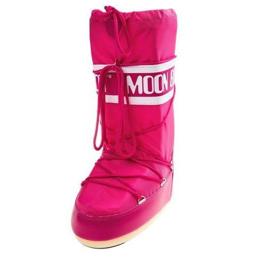 mb nylon śniegowce różowy 23-26, Moon boot