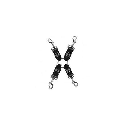 Zestaw do krępowania - Sportsheets Edge Leather 4 Point Hog Tie, SP091A