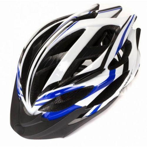 Kask rowerowy Romet WING biało-niebieski