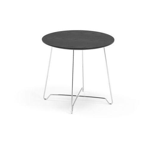 Aj produkty Stół kawowy iris, wys. 460 mm, chrom, czarny
