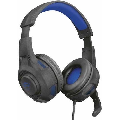 Trust Słuchawki gxt 307b ravu czarno-niebieski (8713439232509)