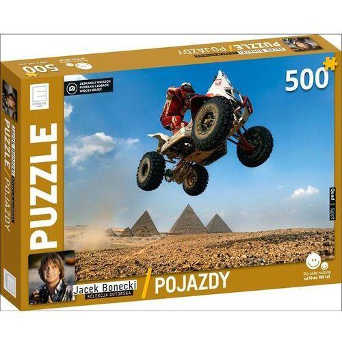 Edipresse książki Puzzle 500 quad pojazdy kolekcja jacka boneckiego