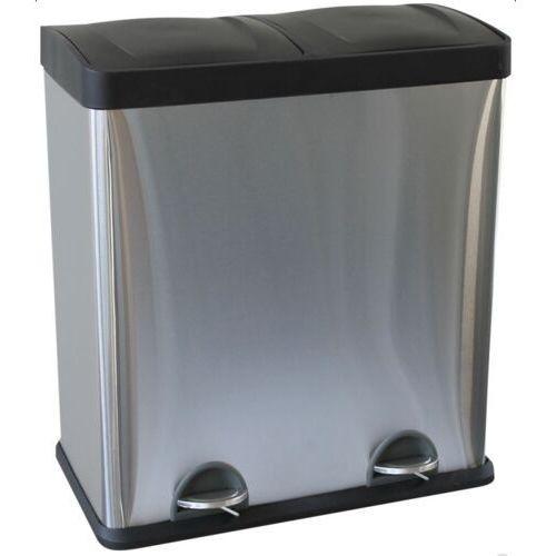 Merida kosz do segregacji śmieci dwukomorowy 2 x 30 litrów