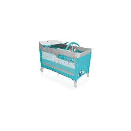 Baby design łóżeczko turystyczne dream new 05 turkusowe marki Babydesign