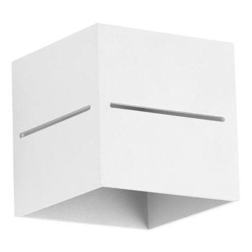 Lampex Kinkiet quado pro a biały - biały