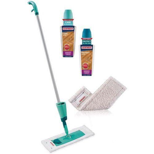 zestaw startowy do czyszczenia podłóg care&protect, 5 części marki Leifheit