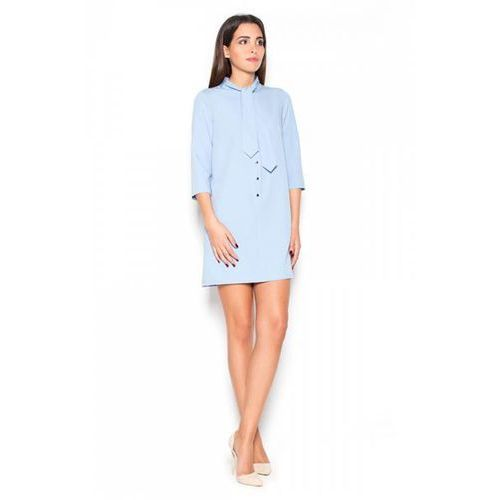 Sukienka model k369 sky blue, Katrus
