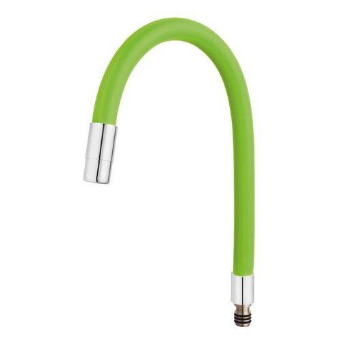 Ferro Wylewka elastyczna do baterii Fitness, zielona (5902194954303)