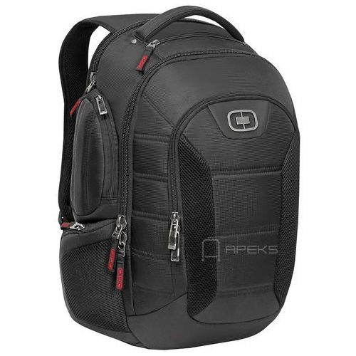 bandit plecak miejski na laptopa 17'' / black - black marki Ogio