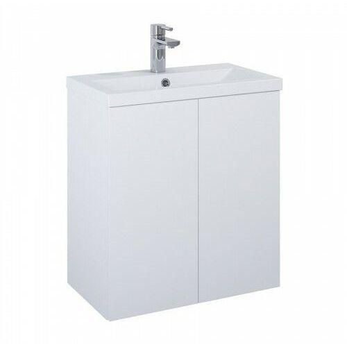 ELITA SET szafka + umywalka Kido 60 2D white matt 168090, kolor biały