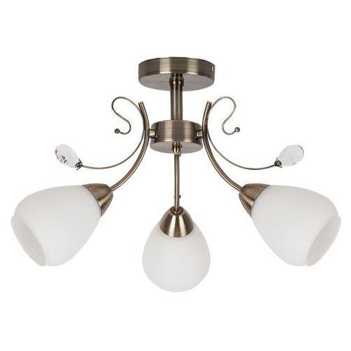 Plafon lampa sufitowa Rabalux Susan 3x60W E27 brąz 7043, 7043