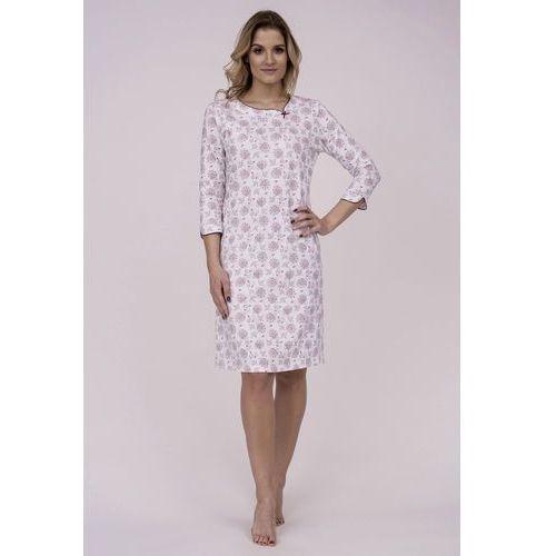 Koszula Cana 783 3/4 M-XL XL, biały-różowy jasny. Cana, L, M, XL, kolor biały