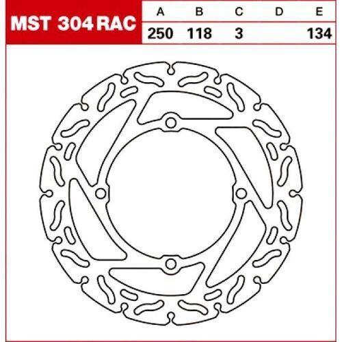 Trw tarcza hamulcowa mst304rac suzuki rm-z 250 450