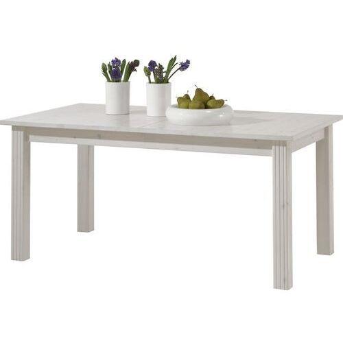 Steens Biały romantyczny rozkładany stół monaco