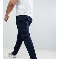 River Island Big & Tall Slim Chinos In Navy - Navy, chinosy