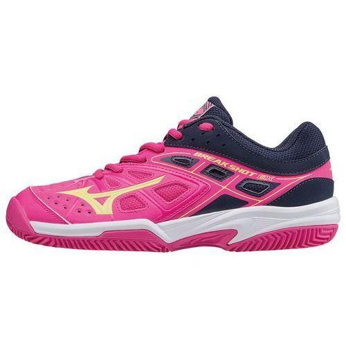 Mizuno buty tenisowe break shot ex cc (w) pinkglo/syellow/peacoat 40.5/7.0