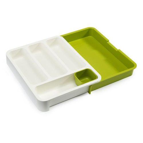 Organizer do szuflady kuchennej Joseph Joseph biało-zielony, 85041