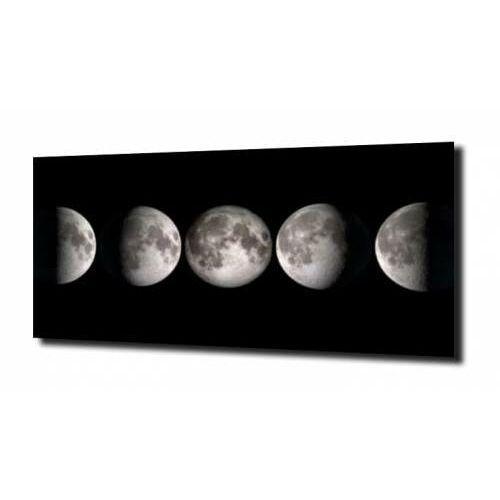 Obraz na szkle fazy księżyca xl marki Zahartowani.pl