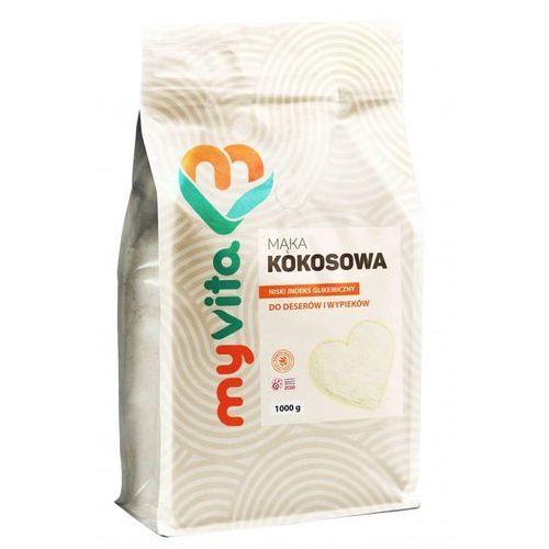 Proness myvita Mąka kokosowa myvita, 1000g, suplement diety