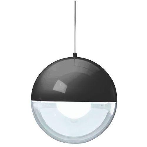 Koziol Orion - lampa wisząca przezroczysty/czarny (4002942165836)
