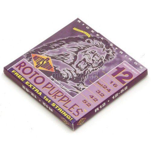 Rotosound R-12 Roto Purples struny do gitary elektrycznej 12-52
