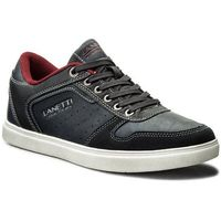 Sneakersy GINO LANETTI - MP07-16609-04 Granatowy, w 5 rozmiarach