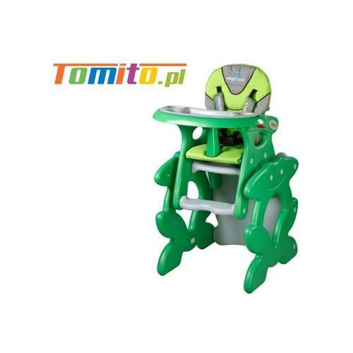 2w1 Krzesełko stolik do karmienia Caretero Primus Green