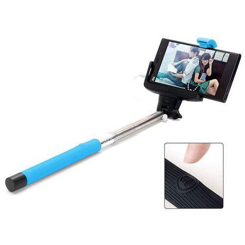 Niebieski Uniwersalny uchwyt Selfie Stick do aparatów i smartfonów Monopod Z07-7 - Niebieski