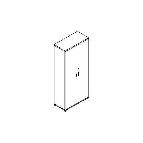 Szafa aktowa 2-drzwiowa H51 wymiary: 80,2x38,5x183,3 cm, H51