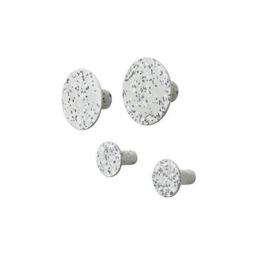 Blomus - zestaw 4 wieszaków ponto, biały, 65901